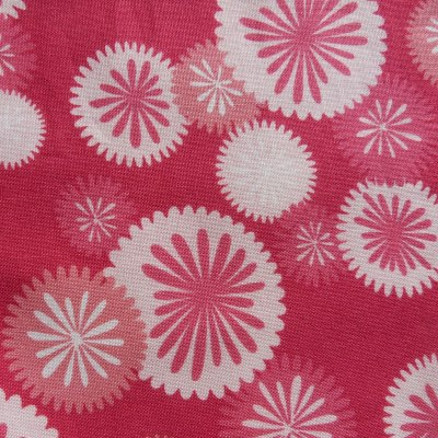 Dog Bandana (Pink Starburst Fabric)