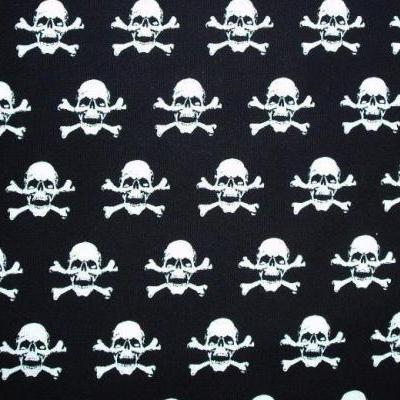 White Skulls Bandana for Greyhounds Lurchers and Whippets