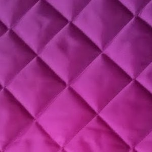 Cerise Pink Quilted Coat